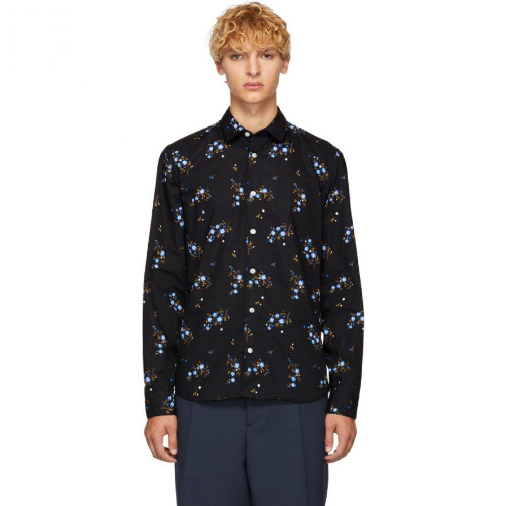 ケンゾー Kenzo メンズ トップス シャツ【Black Floral Urban Slim Shirt】