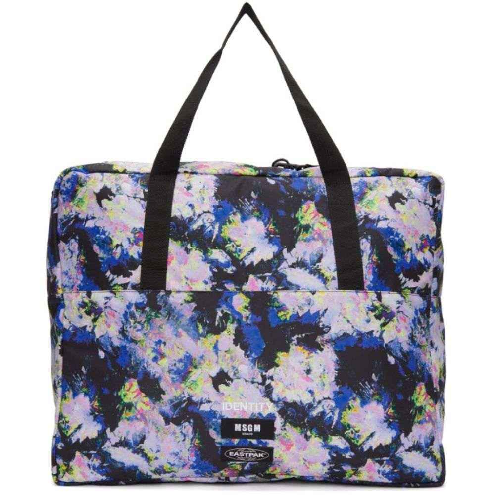 エムエスジーエム MSGM レディース バッグ トートバッグ【Multicolor Eastpak Edition Flowers Tote】