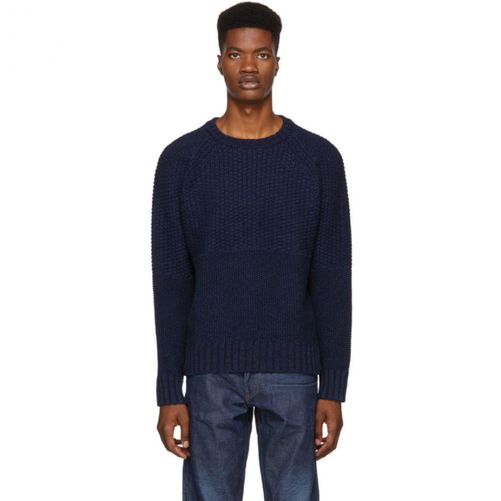 リーバイス Levi's Made & Crafted メンズ トップス ニット・セーター【Navy Fisherman Sweater】