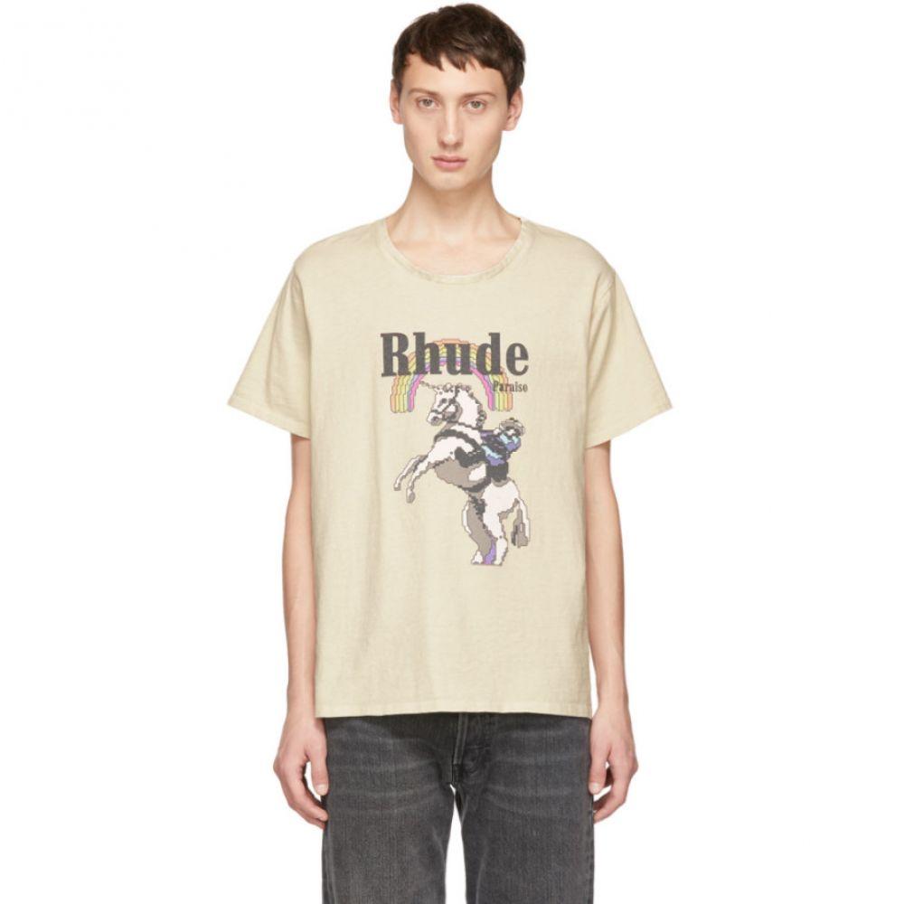 ルード Rhude メンズ トップス Tシャツ【White Unicorn T-Shirt】
