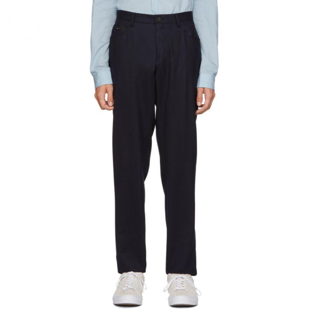 ヒューゴ ボス Boss メンズ ボトムス・パンツ【Navy Gaetano-1 Trousers】