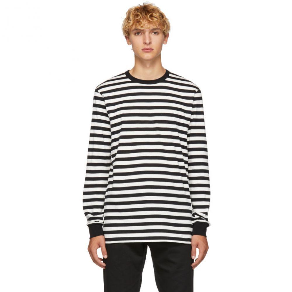 ゴールデン グース Golden Goose メンズ トップス Tシャツ【Black & White Stripes T-Shirt】