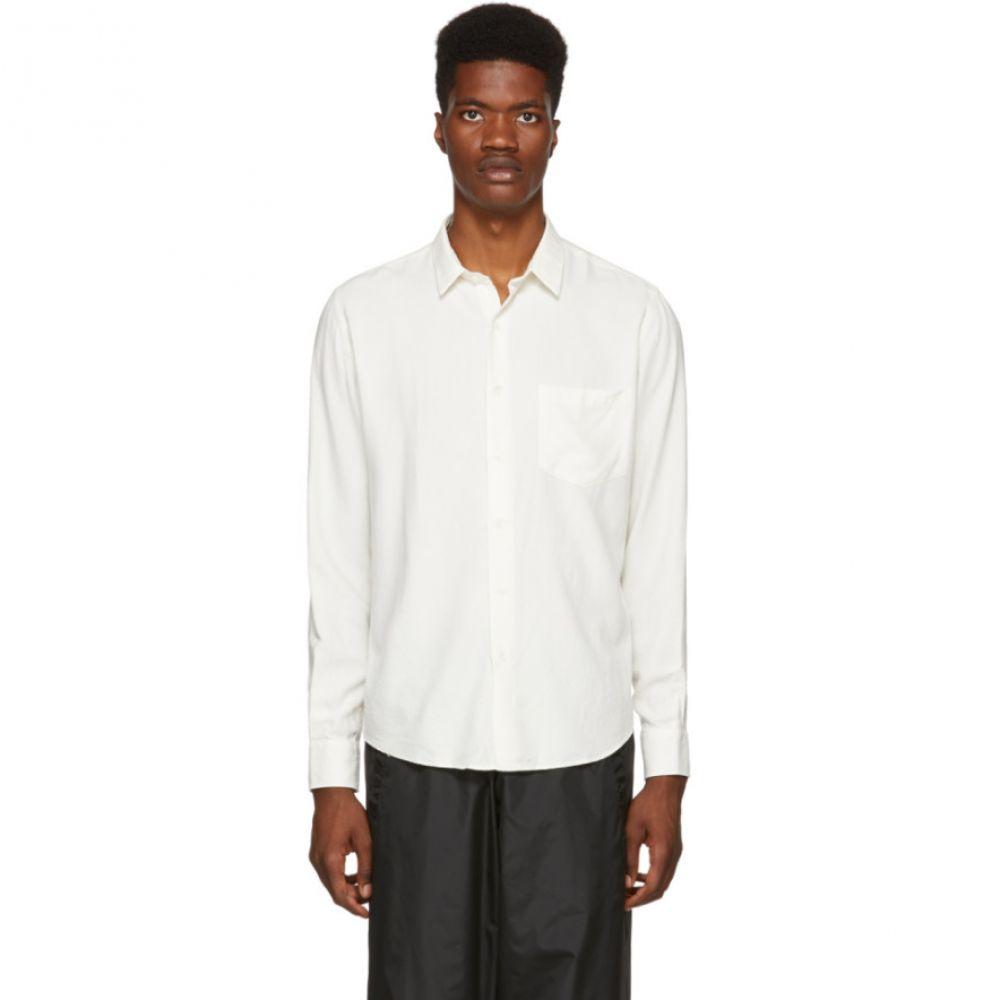 アミアレクサンドルマテュッシ AMI Alexandre Mattiussi メンズ トップス シャツ【White Large Shirt】