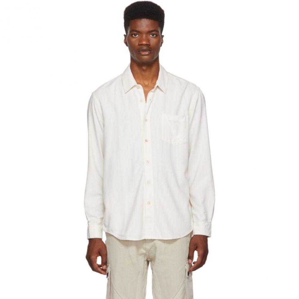 アワーレガシー Our Legacy メンズ トップス シャツ【White Silk Classic Shirt】