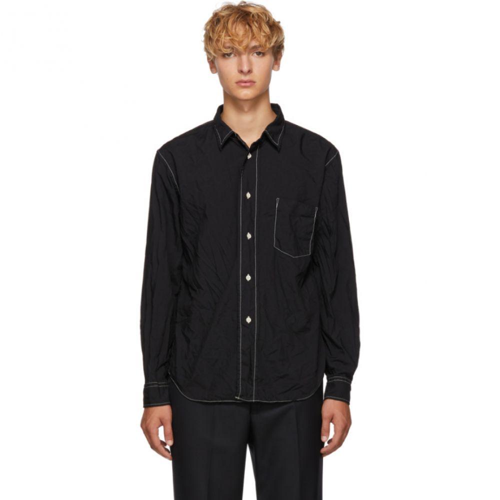 コム デ ギャルソン Comme des Garcons Homme Deux メンズ トップス シャツ【Black Wrinkled Shirt】