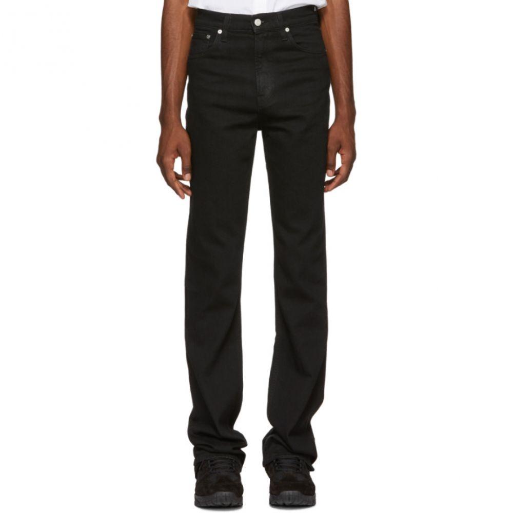 ヘルムート ラング Helmut Lang メンズ ボトムス・パンツ ジーンズ・デニム【SSENSE Exclusive Black Femme Hi Bootcut Jeans】