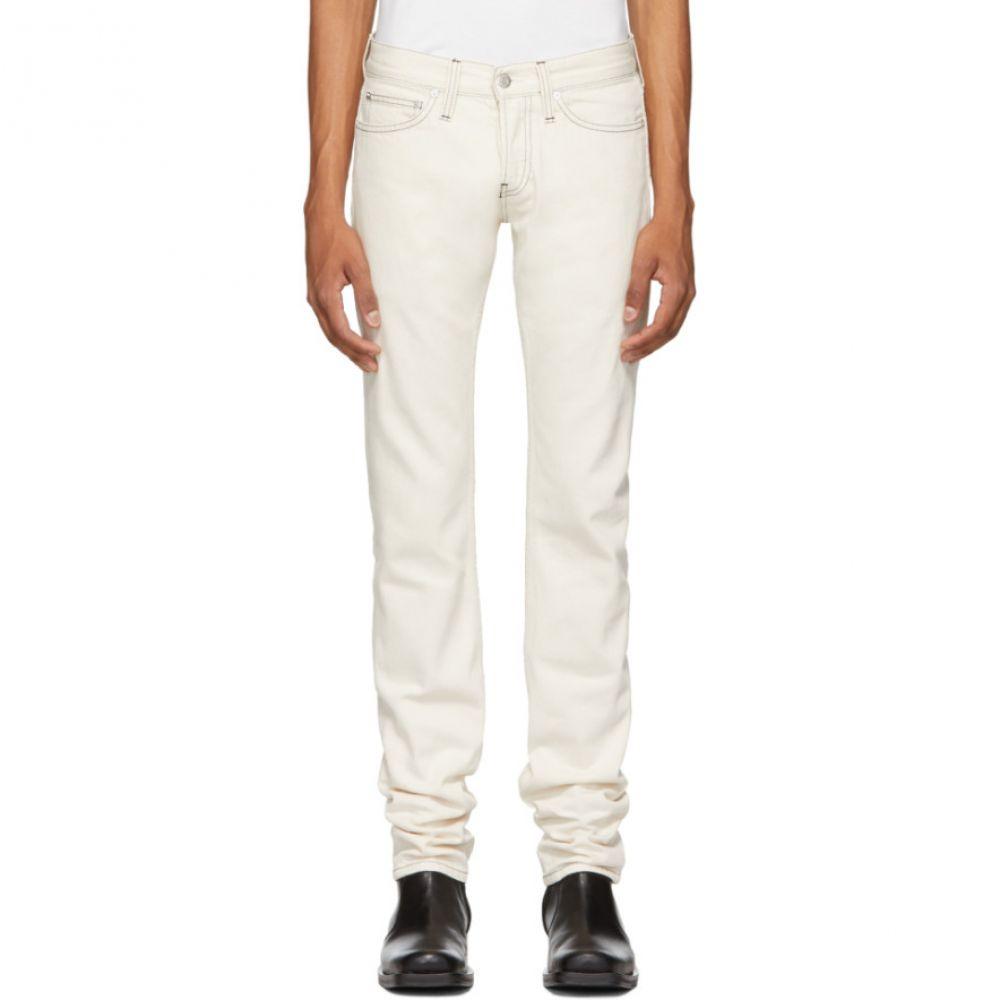 ヘルムート ラング Helmut Lang メンズ ボトムス・パンツ ジーンズ・デニム【Beige Masc Lo Drainpipe Jeans】