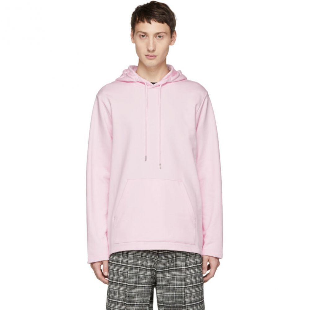 ヘルムート ラング Helmut Lang メンズ トップス パーカー【Reversible Pink Jeremy Deller Light Hoodie】