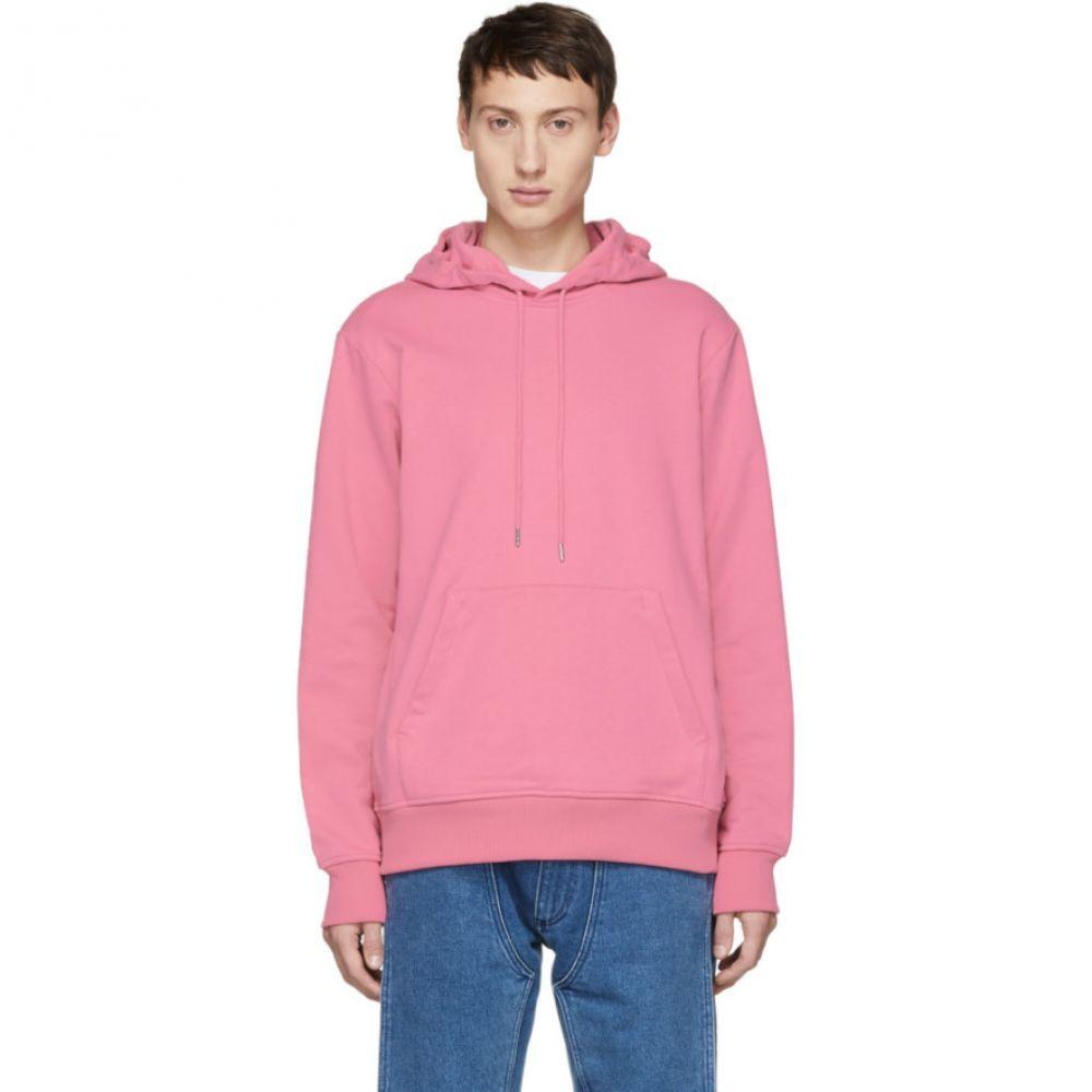 ヘルムート ラング Helmut Lang メンズ トップス パーカー【Reversible Pink Jeremy Deller Dark Hoodie】