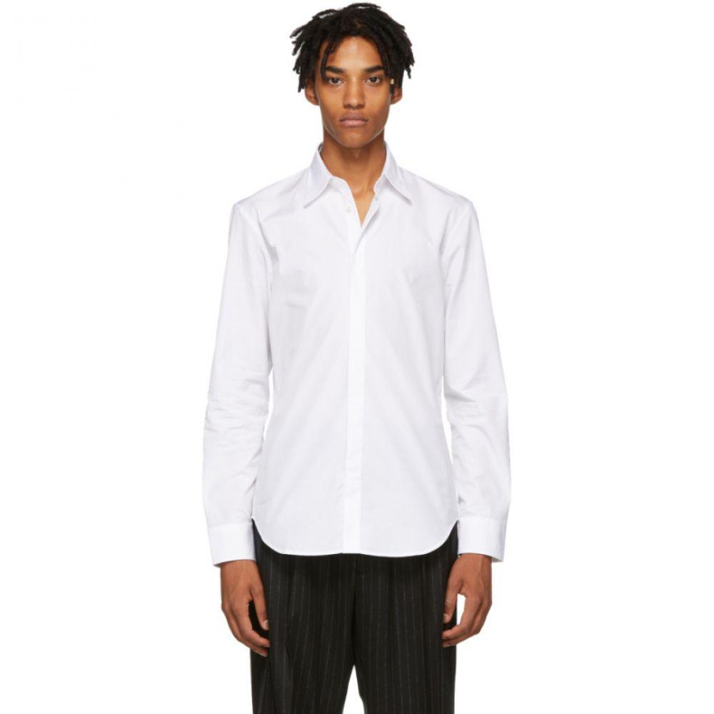 メゾン マルジェラ Maison Margiela メンズ トップス シャツ【White Poplin Shirt】