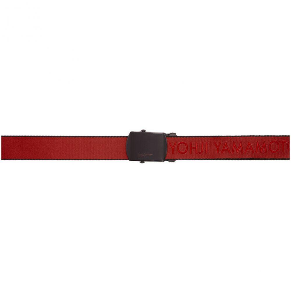 ヨウジヤマモト Yohji Yamamoto メンズ ベルト【Red NY Tape Gacha Belt】