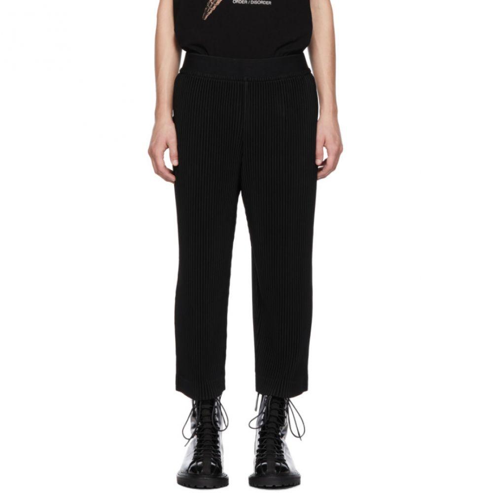 イッセイ ミヤケ Homme Plisse Issey Miyake メンズ ボトムス・パンツ【Black Pleats 2 Trousers】