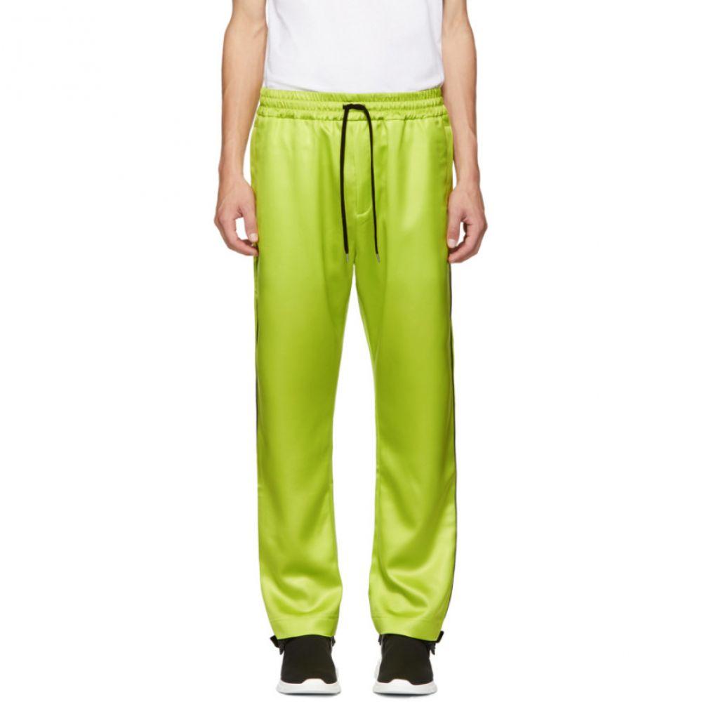 コモン スウェーデン CMMN SWDN メンズ ボトムス・パンツ スウェット・ジャージ【Yellow Buck Piping Track Pants】