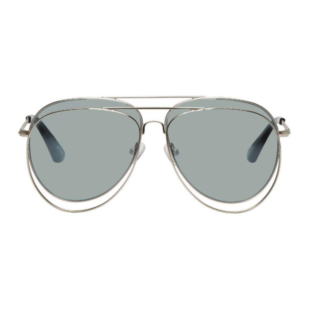 ブレス Bless メンズ メガネ・サングラス【Silver Linda Farrow Edition Double Sunglasses】