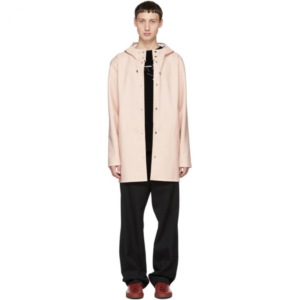 ストゥッテルハイム Stutterheim メンズ アウター レインコート【Pink Stockholm Raincoat】