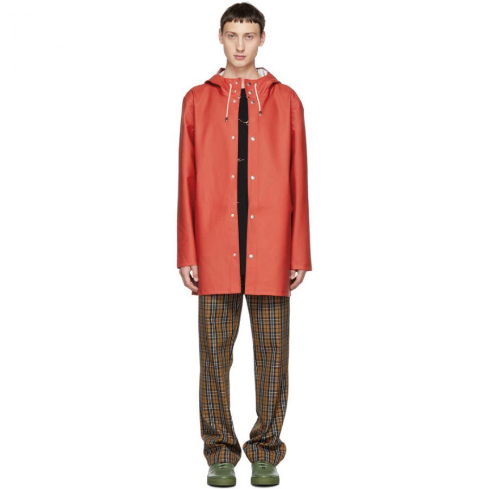 ストゥッテルハイム Stutterheim メンズ アウター レインコート【Red Stockholm Raincoat】