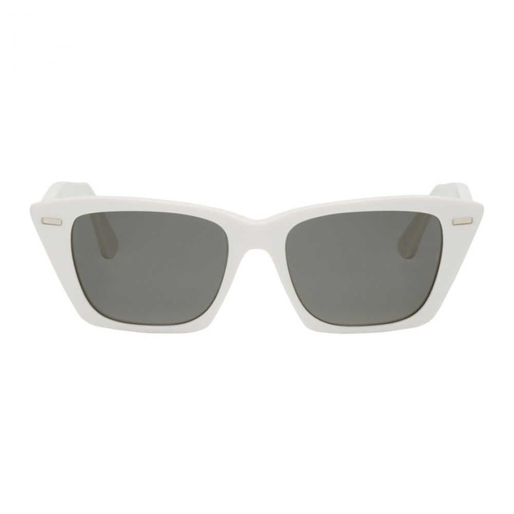 アクネ ストゥディオズ Acne Studios メンズ メガネ・サングラス【White Ingridh Cat Eye Sunglasses】