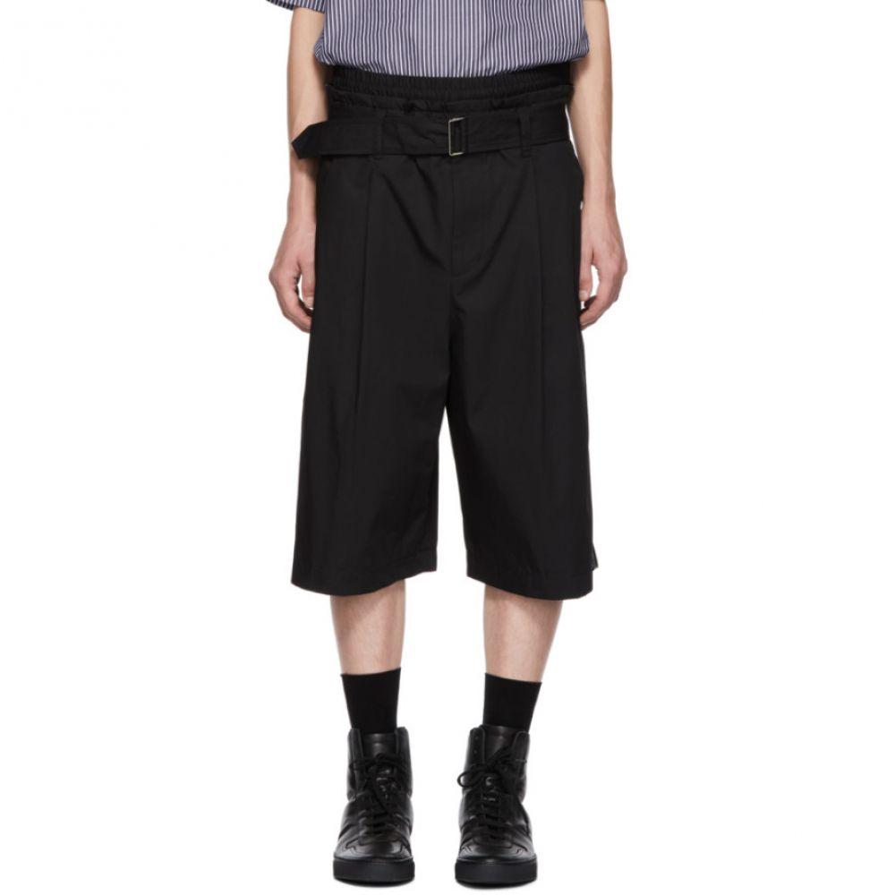 スリーワン フィリップ リム 3.1 Phillip Lim メンズ ボトムス・パンツ ショートパンツ【Black Wide Shorts】