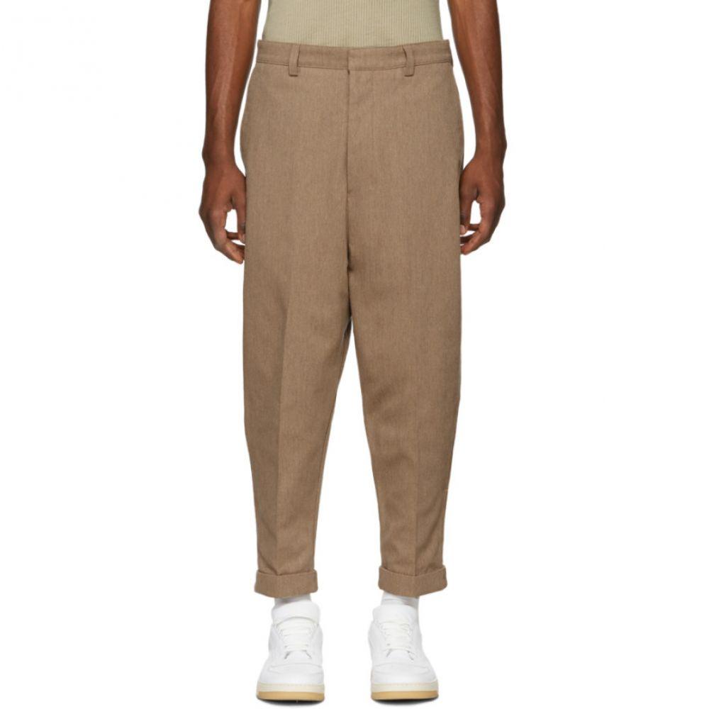 アミアレクサンドルマテュッシ AMI Alexandre Mattiussi メンズ ボトムス・パンツ チノパン【Tan Oversized Chino Trousers】