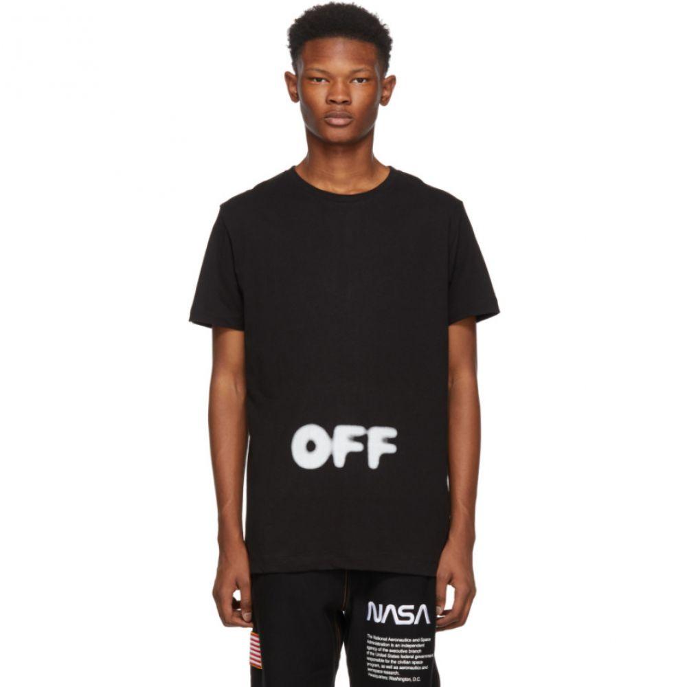 オフ-ホワイト Off-White メンズ トップス Tシャツ【Black Kidmograph Slim T-Shirt】