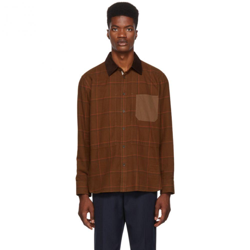 ラグ&ボーン rag & bone メンズ トップス シャツ【Brown Chore Shirt】