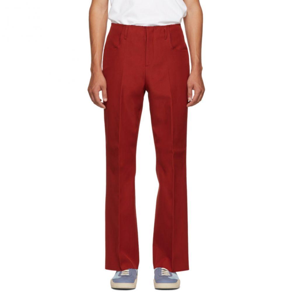 アクネ ストゥディオズ Acne Studios メンズ ボトムス・パンツ【Red Twill Boot Cut Trousers】