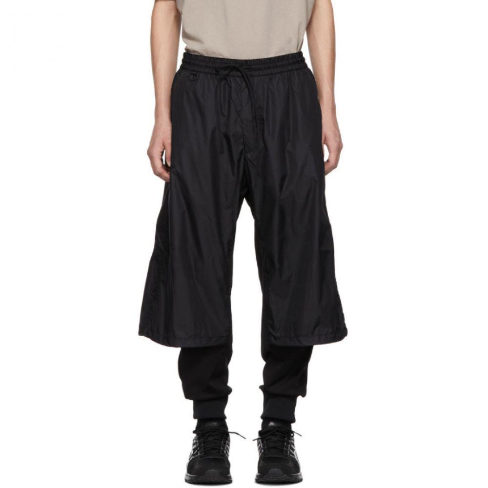 ワイスリー Y-3 メンズ ボトムス・パンツ スウェット・ジャージ【Black Nylon Mix Lounge Pants】