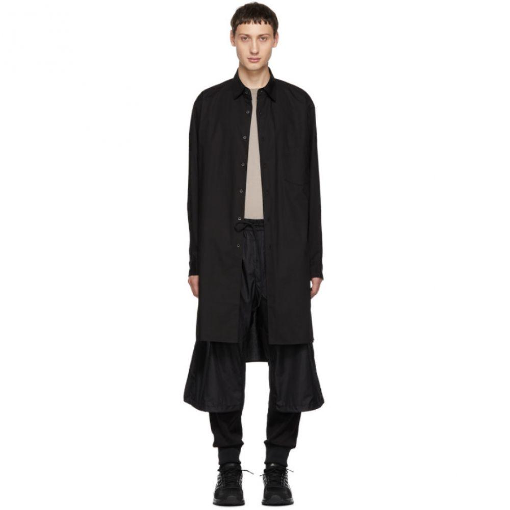 ワイスリー Y-3 メンズ トップス シャツ【Black Stacked Logo Long Shirt】