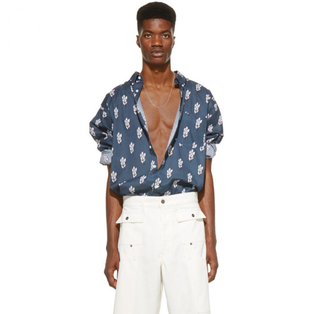 ジャックムス Jacquemus メンズ トップス シャツ【SSENSE Exclusive Navy 'La Chemise Simon' Shirt】