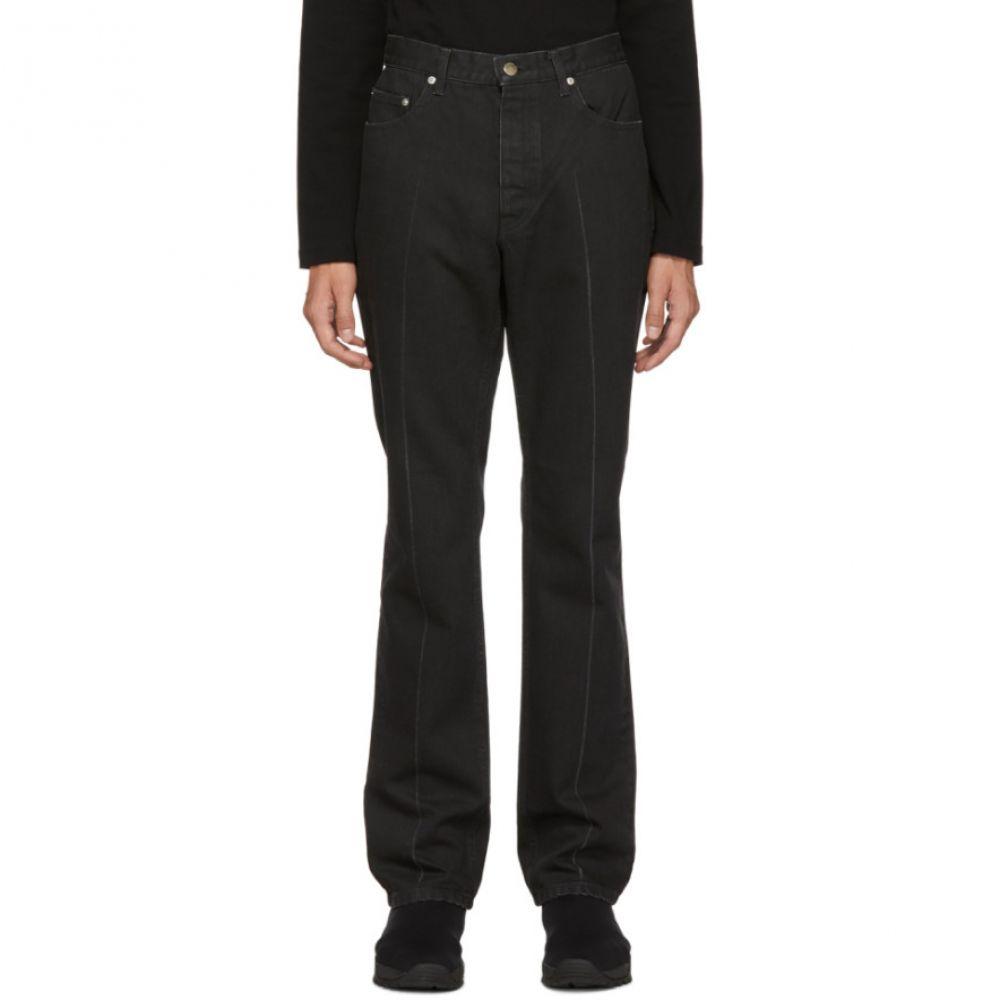 ジョン ローレンス サリバン Johnlawrencesullivan メンズ ボトムス・パンツ ジーンズ・デニム【Black Slim-Fit Jeans】