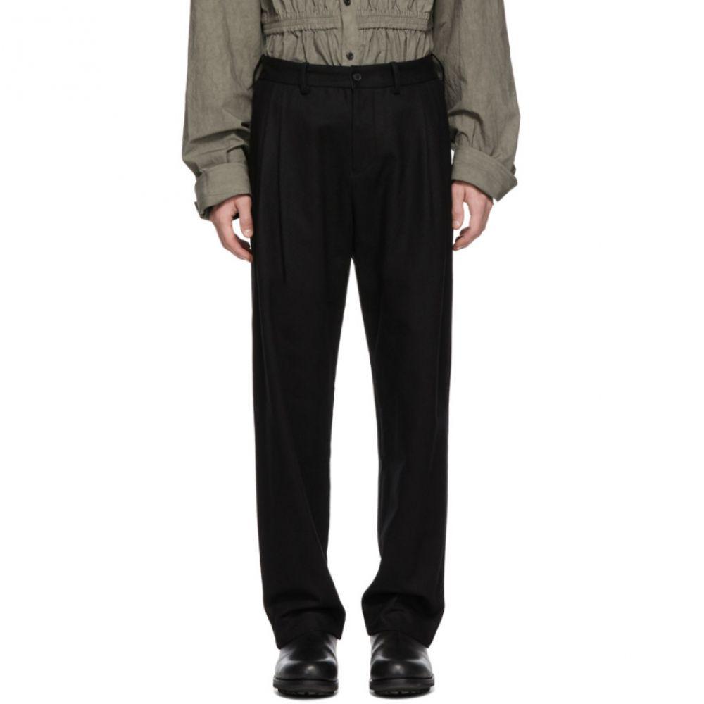 ステファン シュナイダー Stephan Schneider メンズ ボトムス・パンツ【Black Separate Trousers】