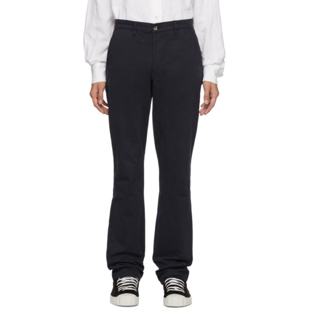 エディションズ エムアール Editions M.R メンズ ボトムス・パンツ【Navy Aime Classic Tailored Trousers】