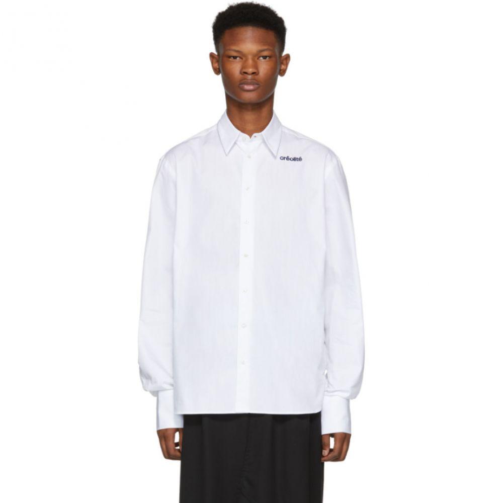 ウェールズボナー Wales Bonner メンズ トップス シャツ【White Classic 'Creolite' Shirt】