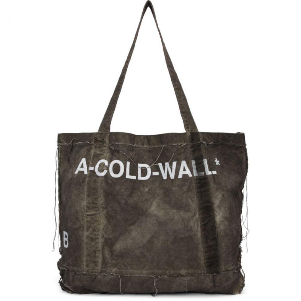 アコールドウォール A-Cold-Wall* レディース バッグ トートバッグ【Grey Canvas Tote】