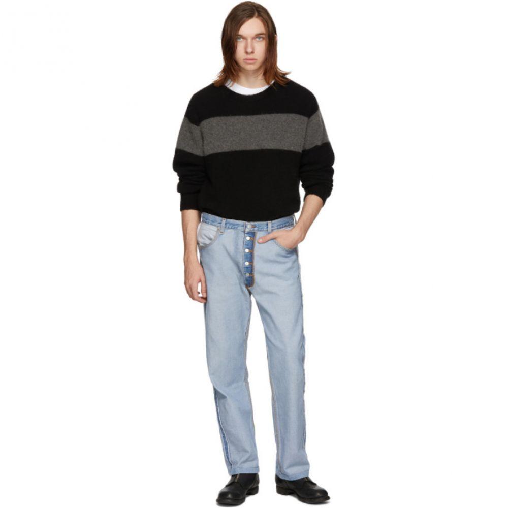 ビーサイズ B Sides メンズ ボトムス・パンツ ジーンズ・デニム【Blue Reworked Inside-Out Jeans】