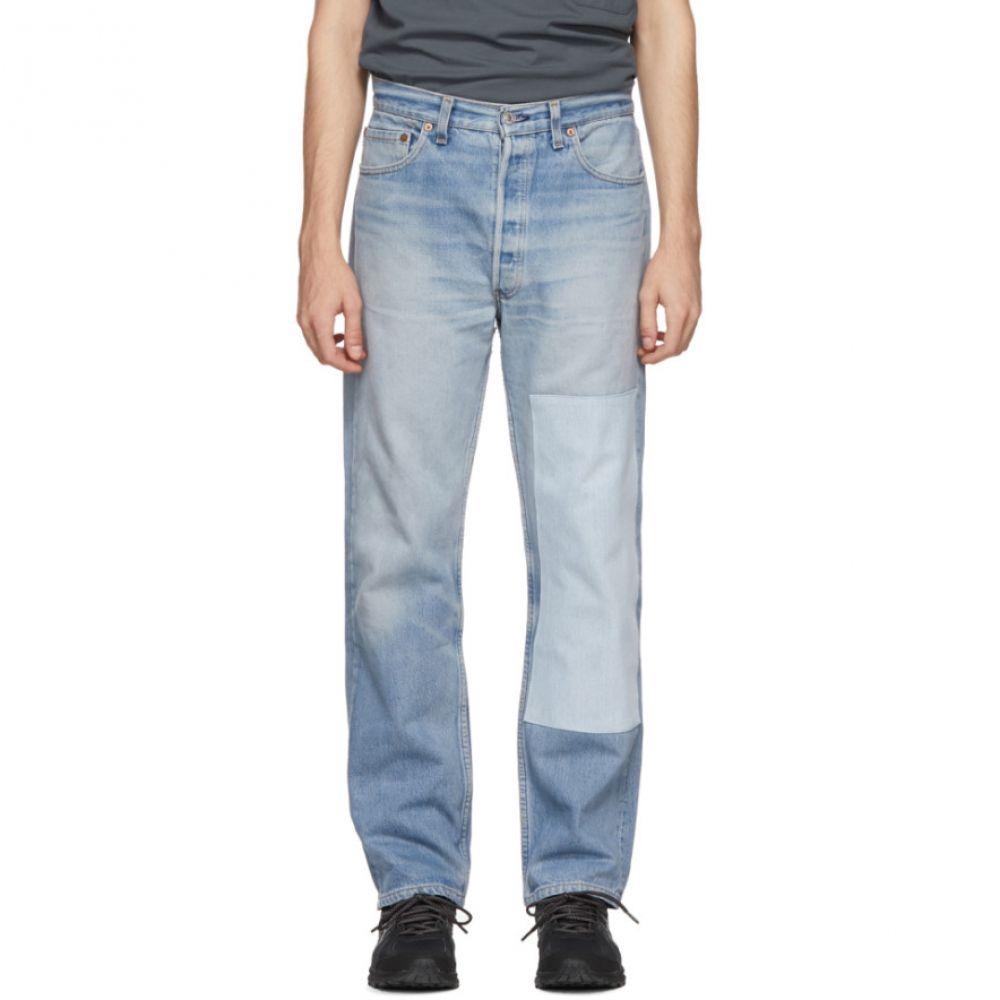 ビーサイズ B Sides メンズ ボトムス・パンツ ジーンズ・デニム【Indigo Reworked One Patch Jeans】