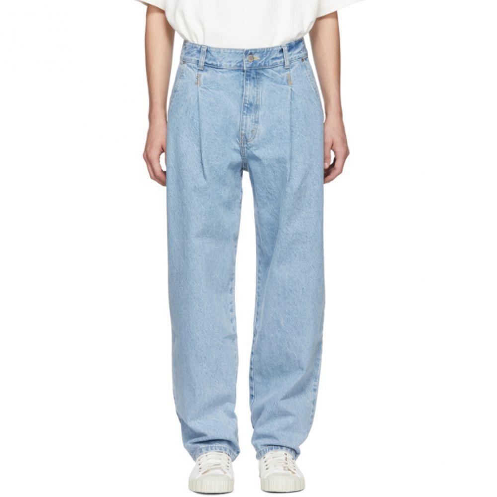 アーダーエラー ADER error メンズ ボトムス・パンツ ジーンズ・デニム【Blue Fergus Pintuck Jeans】