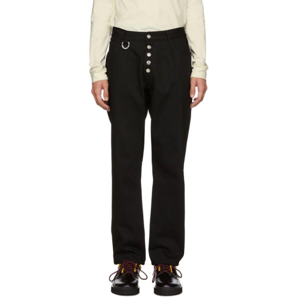 リンダー Linder メンズ ボトムス・パンツ ジーンズ・デニム【Black Cropped Tube Jeans】