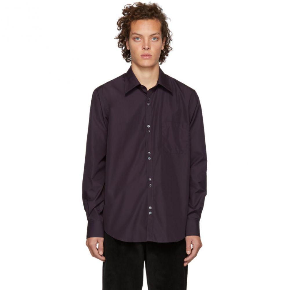 コブラ S.C. Cobra S.C. メンズ トップス シャツ【Purple Double Button Shirt】