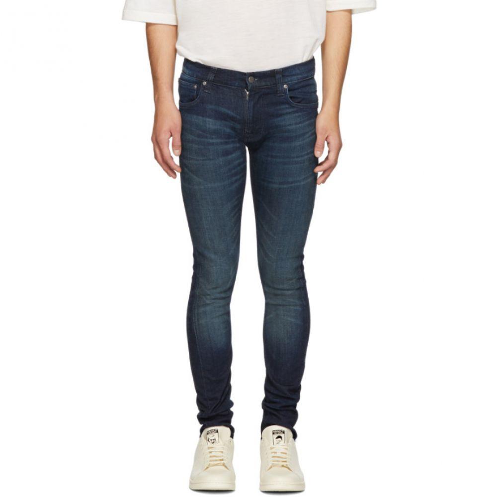 ヌーディージーンズ Nudie Jeans メンズ ボトムス・パンツ ジーンズ・デニム【Indigo Tight Terry Jeans】