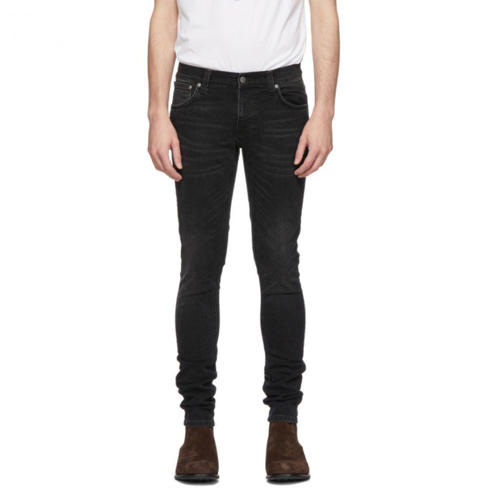 ヌーディージーンズ Nudie Jeans メンズ ボトムス・パンツ ジーンズ・デニム【Black Tight Terry Jeans】