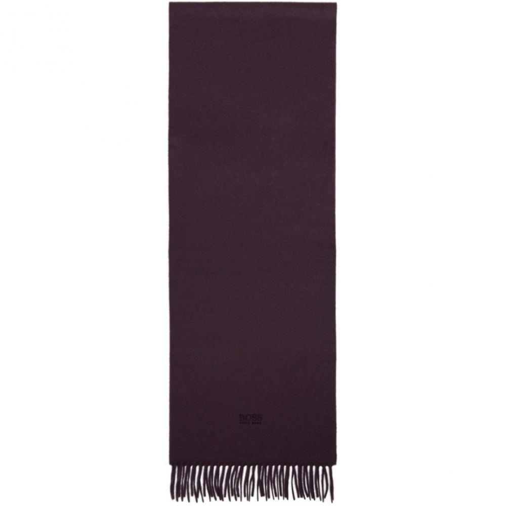 ヒューゴ ボス Boss メンズ マフラー・スカーフ・ストール【Purple Cashmere T-Scottas 02 Scarf】