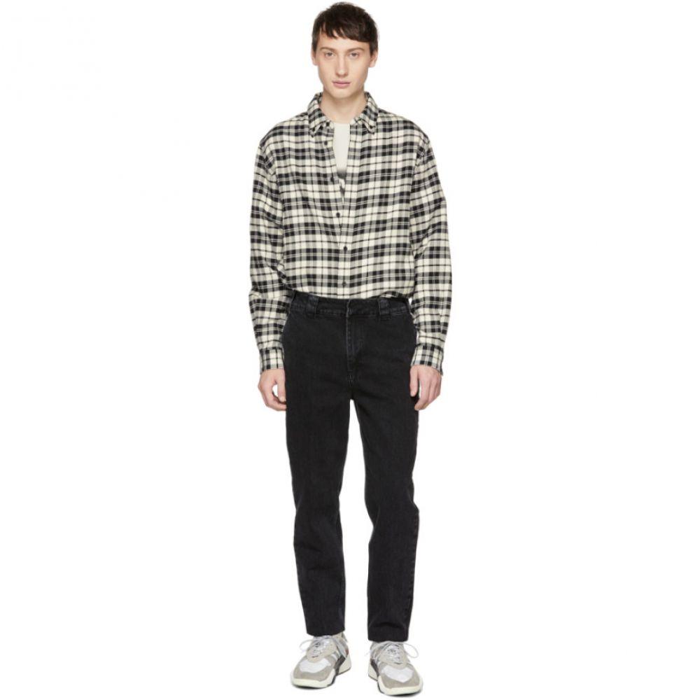 アレキサンダー ワン Alexander Wang メンズ ボトムス・パンツ ジーンズ・デニム【Black 'Rodeo Drive' Trouser Jeans】