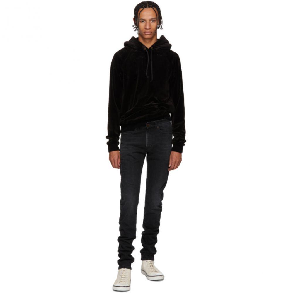 イヴ サンローラン Saint Laurent メンズ ボトムス・パンツ ジーンズ・デニム【Black Skinny Low Waisted Jeans】