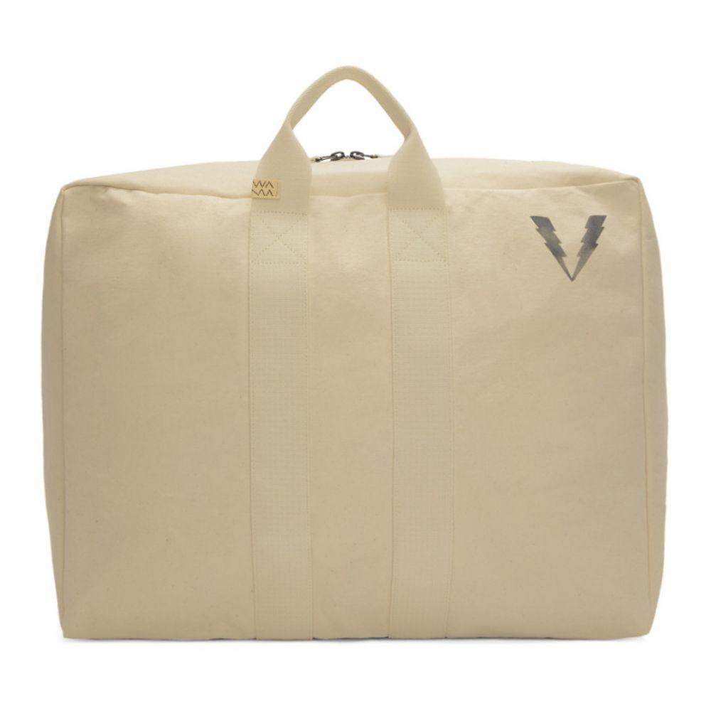 ビズビム Visvim メンズ バッグ ボストンバッグ・ダッフルバッグ【Ivory Canvas Stencil Plura Bag】