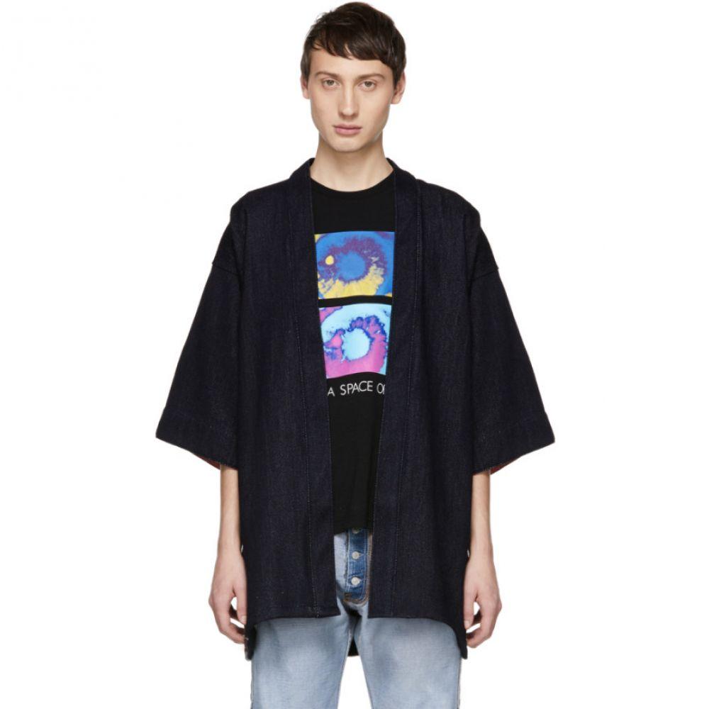 ネイキッド アンド フェイマス Naked & Famous Denim メンズ トップス シャツ【Blue Loose Weave Haori Shirt】