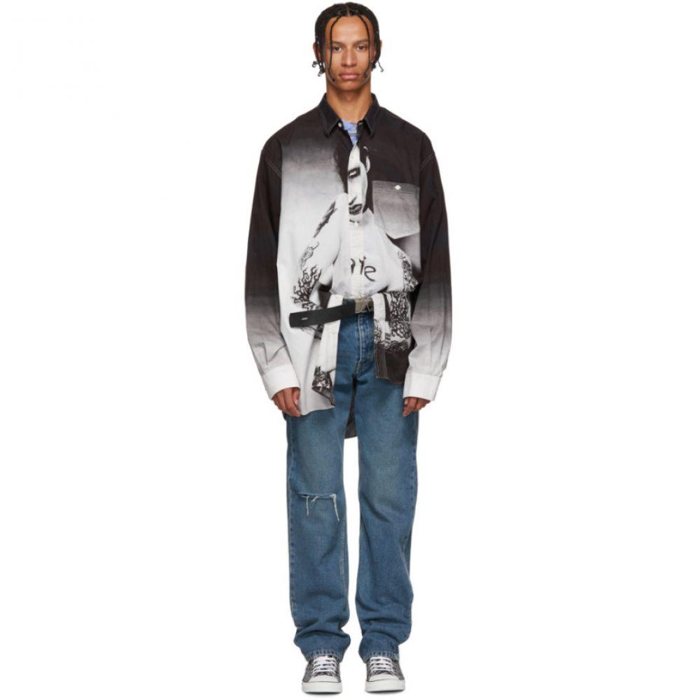 ヴェトモン Vetements メンズ トップス シャツ【Black Marilyn Manson Shirt】