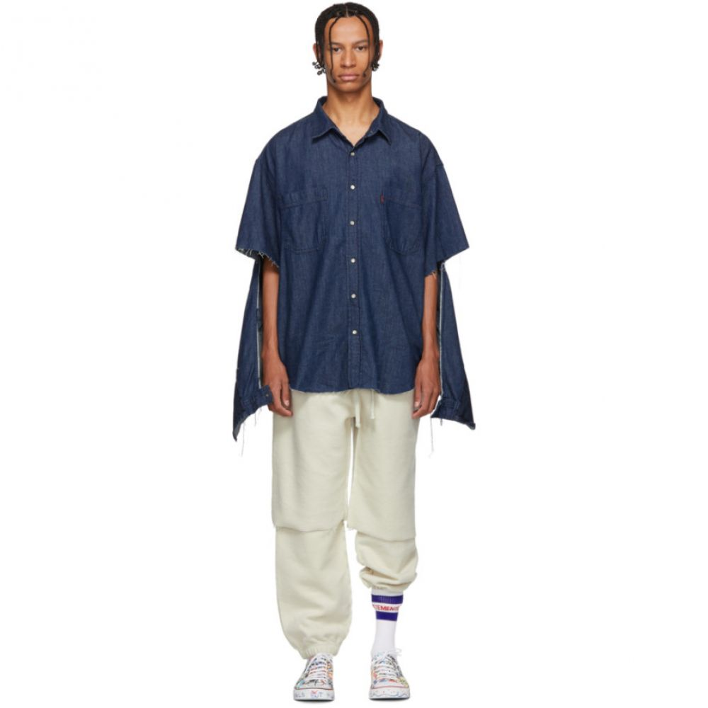 ヴェトモン Vetements メンズ トップス シャツ【Navy Levi's Edition Oversized Denim Shirt】