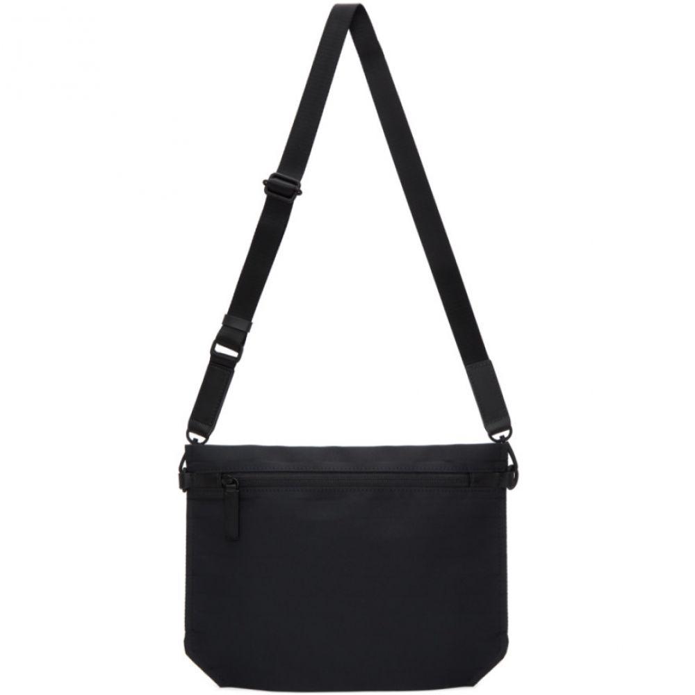 イッセイ ミヤケ Issey Miyake Men メンズ バッグ メッセンジャーバッグ【Black Galette Messenger Bag】