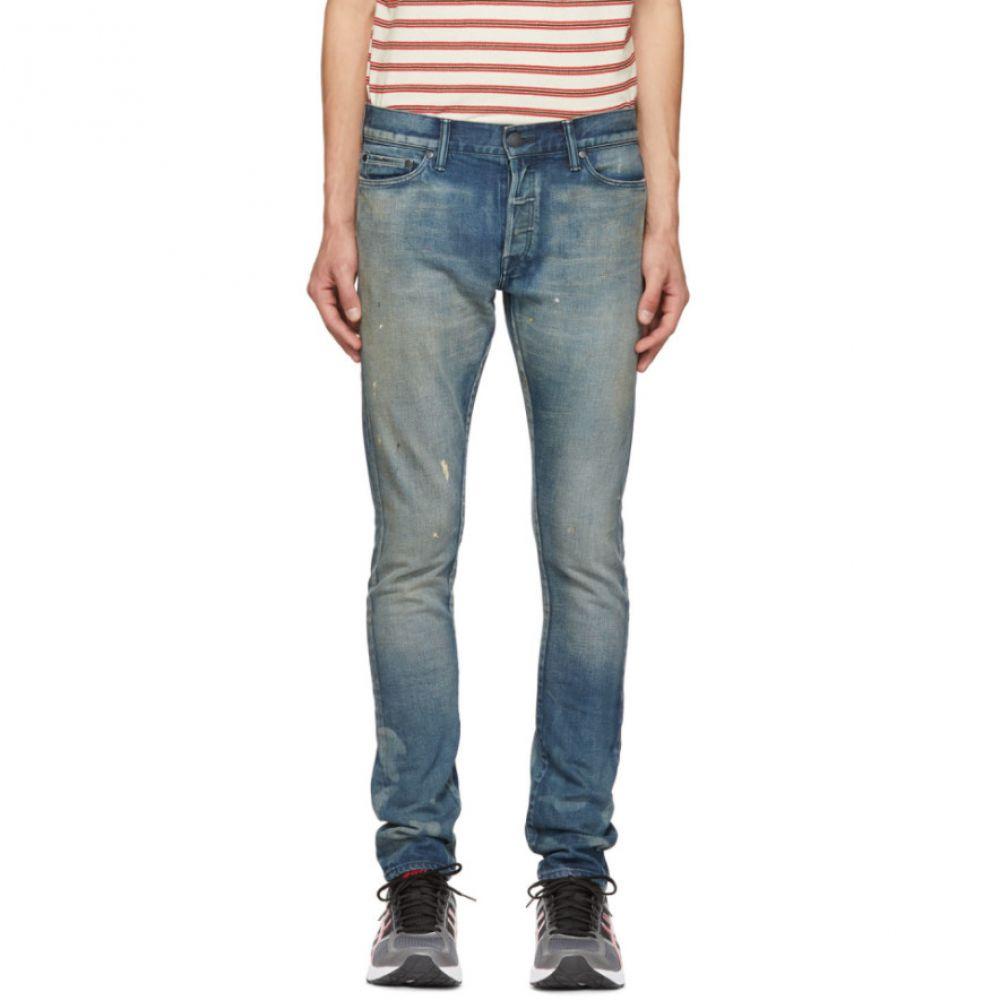 ジーンズ・デニム【Blue 2 Capital E エリオット Jeans】 メンズ Cast ボトムス・パンツ John ジョン Elliott